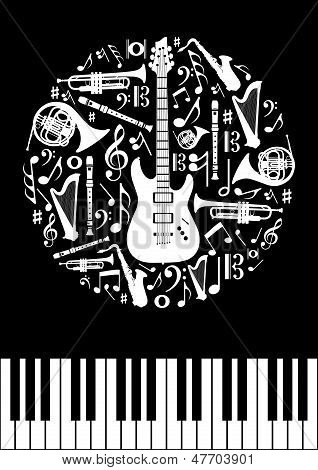 Music Concept Circle