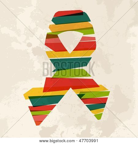Vintage Multicolor Ribbon