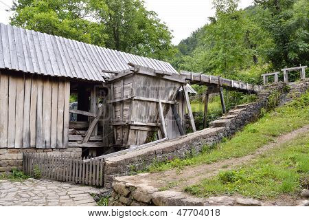 Old Saw Mill Used For Plank Sawing In Etara, Bulgaria