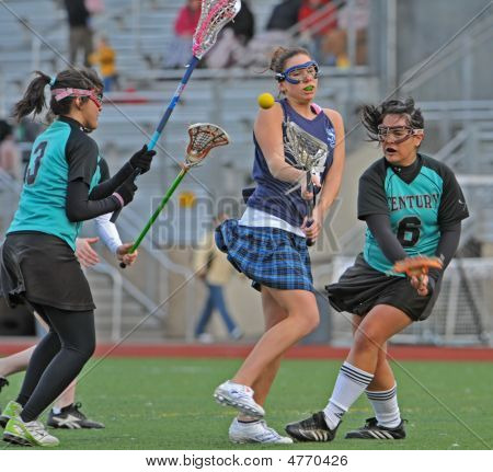 Girls High School Varsity Lacrosse 03