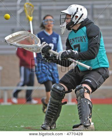 Girls hs Varsity Lacrosse Torhüter