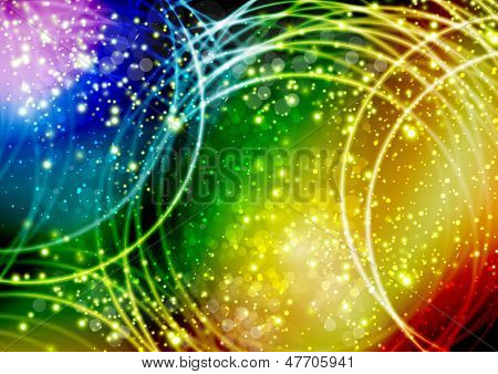 Vector illustration  colored abstract background