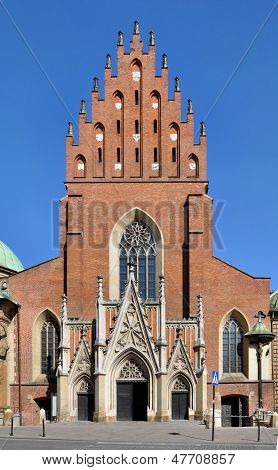 Holy Trinity Dominican Church In Krakow, Poland