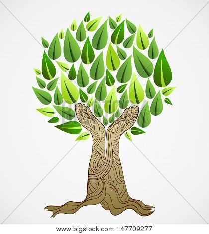 Green Concept Tree
