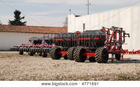 Row Of Seeders