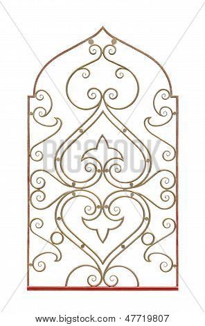 Decorative Fence For Cafe.