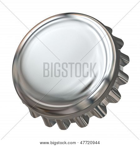 Bottle Cap - Isolated On White