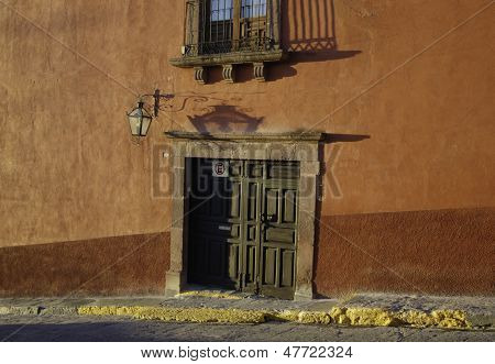 Doorway in San Miguel de Allende