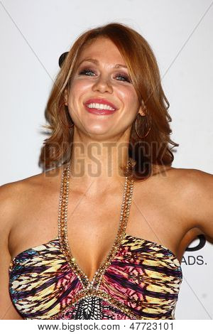 LOS ANGELES - JUL 1:  Maitland Ward arrives at the Friend Movement Anti-Bullying Benefit Concert at the El Rey Theater on July 1, 2013 in Los Angeles, CA