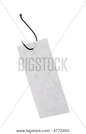 Notepaper On Hook