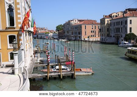View of Canal grande from the Academia bridge