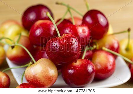 Fresh Rainier Cherries