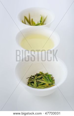 Chinese loose green tea