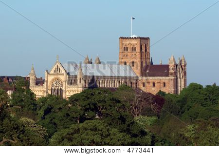 St Albans Cathedral  Spring