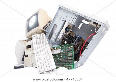 old computer components