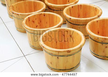 Wooden Basin