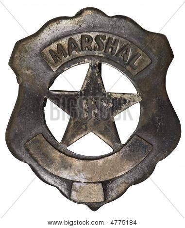 Authentic U.s. Marshall Badge