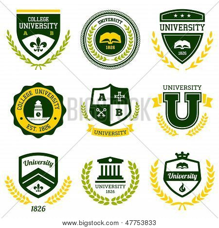 Universidad y Colegio crestas