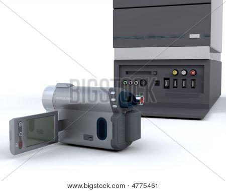 3D Video Camera Equipment