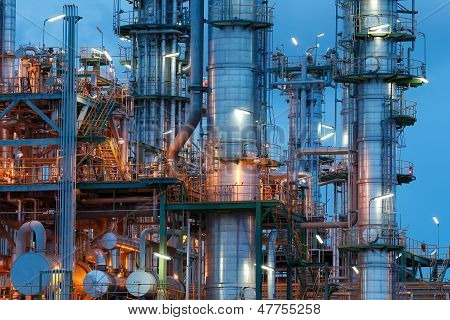 Chemical Plant Structure