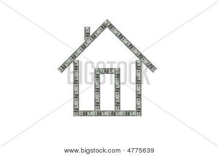 Concepto de bienes raíces de Render 3D