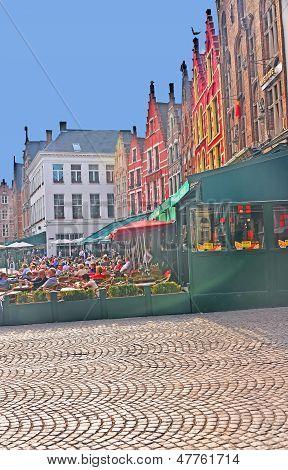 Market Square of Bruges