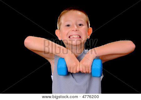 Salud y Fitness Boy