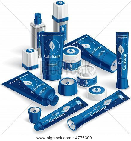 Blue Cosmetics Array