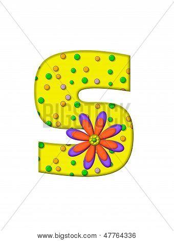 Alphabet Zany Dots S