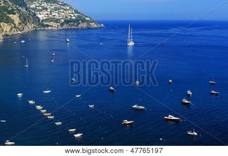 Sailing ships on the Mediteranean Sea, Europe