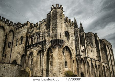 Palais des Papes in Avignon, France