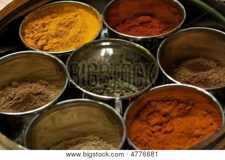 Especiarias indianas