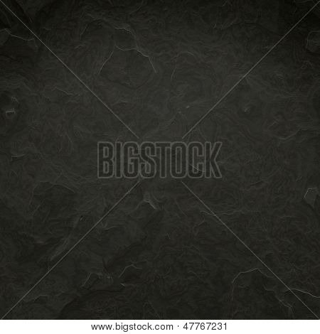 An image of a detailed black stone texture