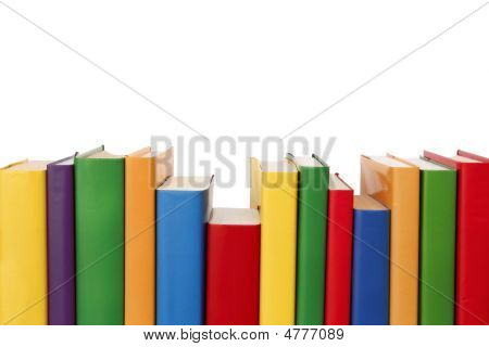 Colorful Books Border