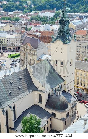 Archcathedral Basilica of the Assumption of Blessed Virgin Mary,Lviv,Ukraine