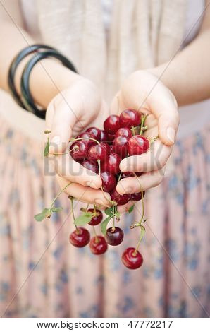Holding Cherries