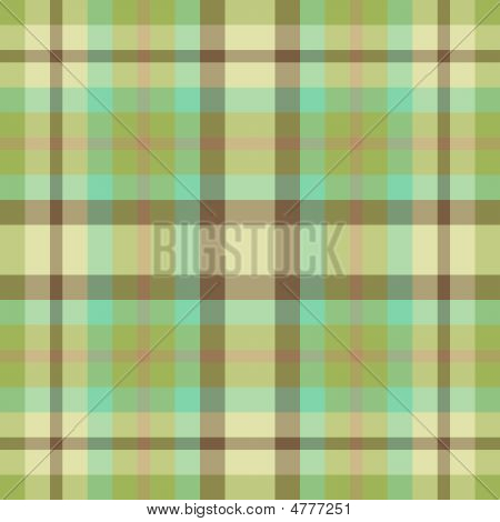 Green And Brown Plaid