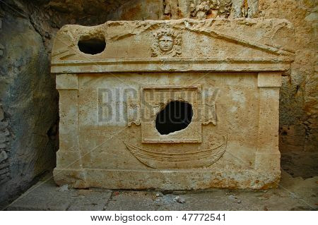 Antique historical tombs
