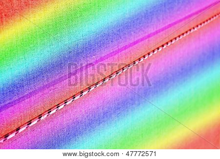 Rainbow Textiled Cord, Modern Industry