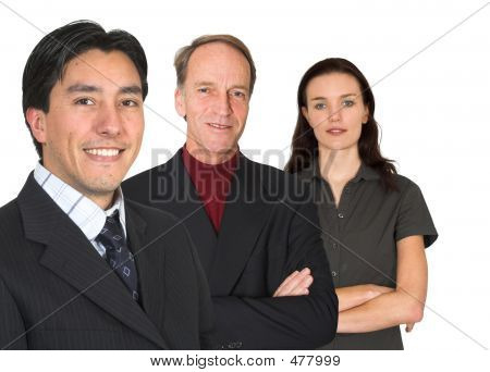 Business Team - Fresh And Experienced