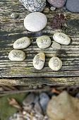 foto of nouns  - word stones - JPG
