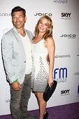 LOS ANGELES - JUL 1:  Eddie Cibrian, LeAnn Rimes arrives at the Friend Movement Anti-Bullying Benefi