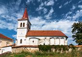 Saxon Fortified Church In Transylvania, Romania