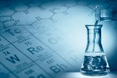 stock photo of beaker  - Science concept - JPG