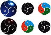 image of triskelion  - Bdsm signs in different forms - JPG