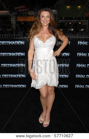 Cerina Vincent at the World Premiere of 'The Final Destination'. Mann Village Westwood, Westwood, CA. 08-27-09