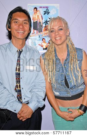 Tony Young and Tonya Kay at the dual screenings of