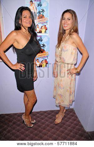 Lisa Solomon and Kerri Kasem at the dual screenings of