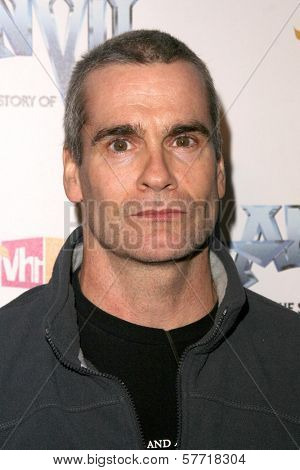 Henry Rollins  at the Los Angeles Premiere of 'Anvil! The Story of Anvil'. The Egyptian Theatre, Hollywood, CA. 04-07-09