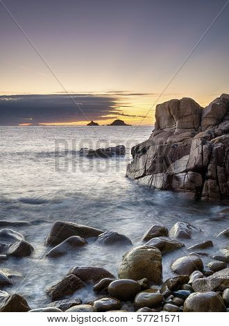 Porth Nanven Cove